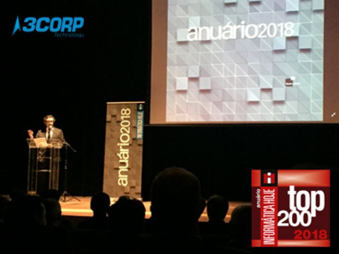 3CORP is ranked among the 200 largest IT companies in Brazil